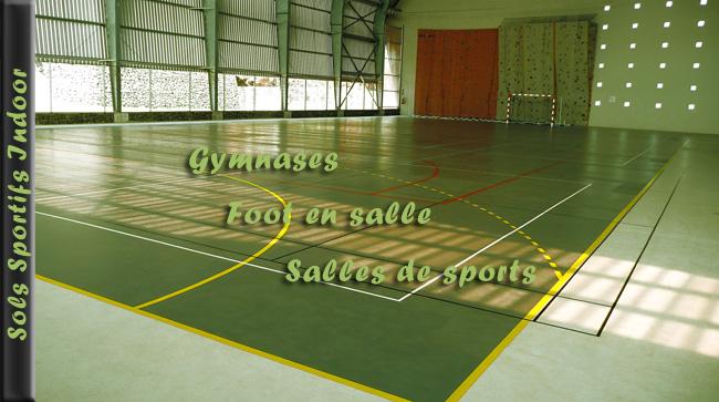 Sols sportifs indoor