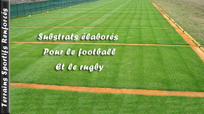 Terrains sportifs renforcés